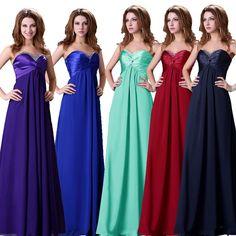 Grace Karin Formal Evening Long Party Bridesmaid Dress JS Size 2 4 6 8 10 12 14+