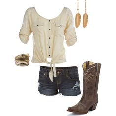 cowboy boots aren't my thing but I love this shirt