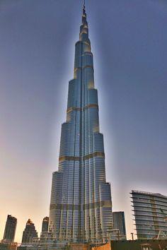 Burj Khalifa -- The Tallest Building in the World.