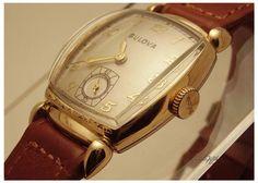 Bulova watch - 1949 Minute Man, vintage new old stock strap