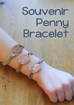 Southern California Souvenir Penny Bracelets