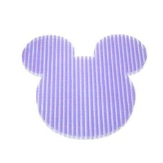 Mickey Velcro hair pin Purple – Pink Hippo Store