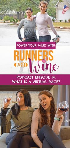 What is a virtual race? Tune in to Episode 14 of the Runners Who Wine Podcast to learn what they are and how you can find an event, take on the challenge, and earn bling on your own time.
