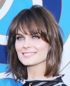 emily deschanel hairstyles - Google Search