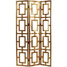Guilded Gold Leaf Screen Item# AH3268 $1495.00
