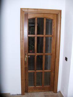 porta a libro con pannello sotto e vetro sopra porte interne