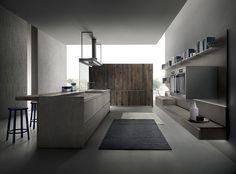 ICON Cucina con isola by ERNESTOMEDA design Giuseppe Bavuso