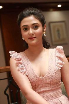 """Trailer: Tamil Movie """"Varma"""" Trailer Launched by Suriya. Tamil Actress Megha Choudhary Hot Cleavage Photos Pink Frock At Varma Tamil Movie First Look Launch. Megha Choudhary At Varma Ta… Beautiful Blonde Girl, Beautiful Girl Photo, Beautiful Girl Indian, Most Beautiful Indian Actress, Cute Beauty, Beauty Full Girl, Beautiful Bollywood Actress, Beautiful Actresses, Likes Youtube"""