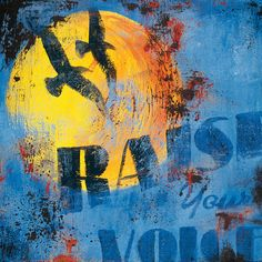 I pinned this Raise Your Voice Canvas Giclee from the Make a Statement event at Joss and Main!