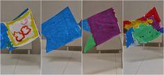 DIY schilderen met de kids: vlaggetjes schilderen