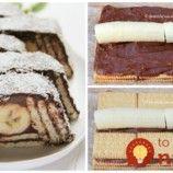 1 balenie sušienok, 2 banány a čokoládový krém: Fantastická lahôdka bez pečenia – geniálny dezert na každú akciu! Desserts, Food, Tailgate Desserts, Meal, Dessert, Eten, Meals, Deserts, Food Deserts