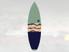 NEW IN | Volcan-Oh | Surfboard Sock | Horizon Pistachio