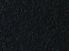 Tissu Jersey Structuré Motif Arabesque Gaufré en vente sur TheSweetMercerie.com