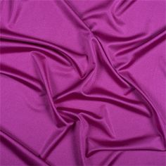 Solid Fuschia Pink Silk Knit FabricA gorgeous fabric with a lustrous sheen, this fine quality silk jersey knit will sew up beautifully into dresses, tops, and skirts.175 GramsCompare to $67.48/yd.Fabric is reorderable as neededPlease allow 3-5 business days before it ships1 YARD MINIMUM CUTNO SAMPLES ARE AVAILABLE