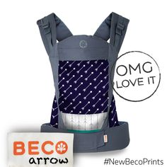 Beco Baby Carrier Soleil in Arrow #NewBecoPrints