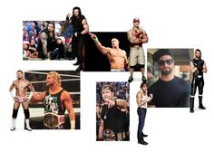 """""""WWE Preferences:The picture of him as your screensaver."""" by jamiehemmings19 ❤ liked on Polyvore featuring WWE and CENA"""