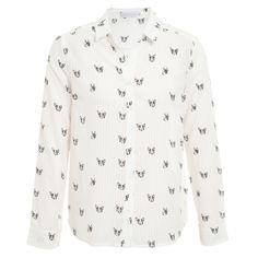 MARKET 33 - Camisa Market 33 pug - off white