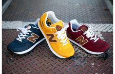 The New Balance 574 Backpack Collection, in additional bold colors! #madeinusa
