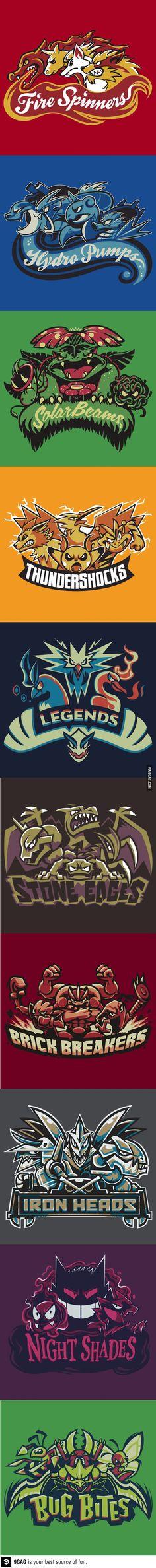 Team Pokemon!