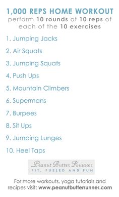 1000 Reps workout