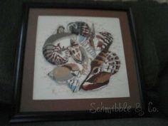 Schmibble & Co. Shells cross stitch