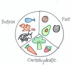 40-30-30 Diet Plan pie chart