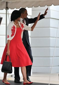 OWW! The President & First Lady GET CUTESY At Fort Stewart | The Young, Black, and Fabulous