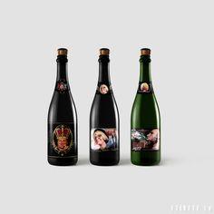 Personalizētas pudeļu etiķetes