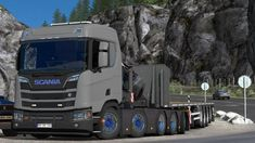 Scania Xt Truck mod for – Lightmasks– Paintable– Cabin DLC– 1 cabin– 1 chassis Wheels– Sound– Tunning– Template Work on version Truck Mods, Peterbilt, Volvo, Euro, 1, Trucks, Games, Vehicles, Board