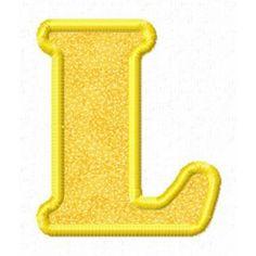 Single alphabet letters designs home.