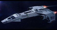 Star Wars Incom/Frei-Tek IFST-21 light freighter by AdamKop
