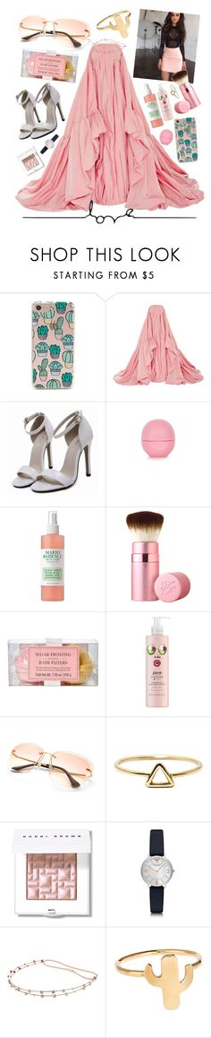 """Can I please have this 11,000.00$ dress?!?!😂😂💗💗💕💕"" by maris3456 ❤ liked on Polyvore featuring Forever 21, Zac Posen, Eos, Mario Badescu Skin Care, Brandy Melville, Too Faced Cosmetics, Tri-coastal Design, Love Is, Bobbi Brown Cosmetics and Emporio Armani"