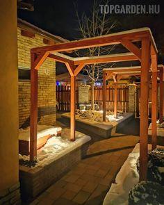 A kertre semmiképpen nem úgy kell tekinteni, mint valami nyűgre, ahol füvet kell vágni és összeszedni a leveleket, hanem úgy, mint egy saját kis béke szigetére. Outdoor Furniture, Outdoor Decor, Land Scape, Beautiful Gardens, Pergola, Outdoor Structures, Instagram, Gardening, Design