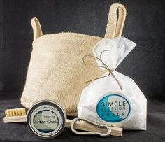 Gift Basket for Rock Climbers 4 piece gift set in a by SBDSkincare