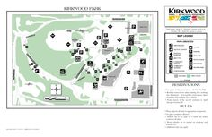 Kirkwood City Park // Hiking trails + large playgrounds with water play for toddlers. Stuff To Do, Things To Do, Park Birthday, Water Play, Parks And Recreation, Park City, Hiking Trails, Cool Pictures, Map