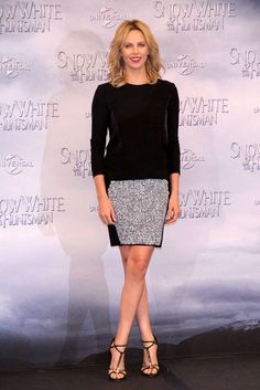 Charlize Theron at SWATH photocall in Berlin.