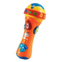 VTech Sing Along Microphone by VTech, http://www.amazon.co.uk/dp/B0012XBP5S/ref=cm_sw_r_pi_dp_Ll5ksb0AS9RTR