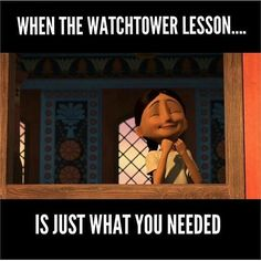 What I feel when I see the light bulb go on over my Bible study as she understands another teaching point. Keep praying for Jehovah's guidance on your studies!