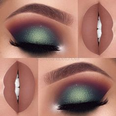 Green Eye Makeup Inspiration
