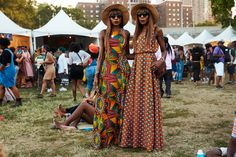 See All The Afropunk Outfits That Slayed #refinery29  http://www.refinery29.com/2016/08/121572/afropunk-2016-street-style#slide-10  It's a twin thing....