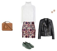 """""""Untitled #7270"""" by explorer-14576312872 ❤ liked on Polyvore featuring Mark Cross, Loro Piana, Mary Katrantzou, Tod's, Bloomingdale's and H&M"""