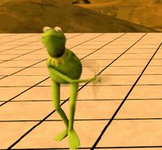 The perfect Kermit Dance Fresh Animated GIF for your conversation. Discover and Share the best GIFs on Tenor. Kermit The Frog Gif, Kermit Gif, Funny Videos, Funny Memes, Top Memes, Sapo Kermit, Les Muppets, Funny Happy Birthday Song, Funny Billboards