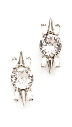 Fallon Jewelry Round Cut Stud Earrings