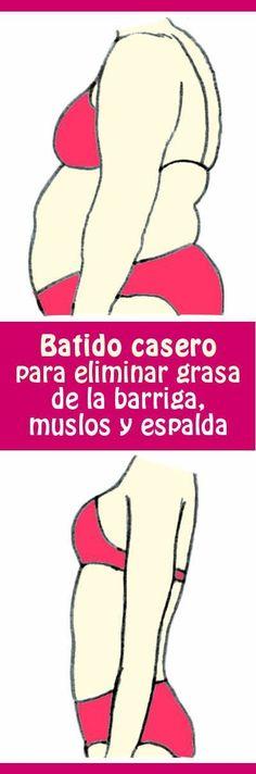 #batido #casero de banana y #jengibre para #eliminar #grasa de la #barriga, #muslos y #espalda #adelgazar