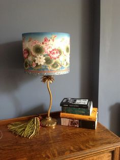 Asian decor asian lamp shade zen garden oriental lamp shade lampshades in or on their way to new homes aloadofball Images