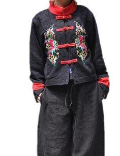 Spring jacket Chic black short Jacket by MaLieb on Etsy, $76.00