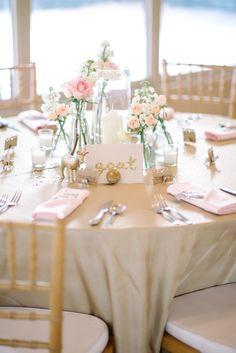 romantic glam reception, photo by Sean Money + Elizabeth Fay http://ruffledblog.com/glittered-charleston-wedding #wedding #decor #tablescape