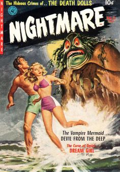 Cover for Nightmare (1952 series) #2
