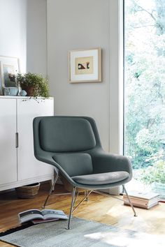 Modern classics, built to last. Herman Miller's Striad Lounge Chair lets you live comfortably with pieces you love. Find inspiration in our iconic designs, mix-and-match styles and colors, and construct your dream home pin by pin