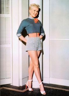 Betty Grable during the filming of How To Marry A Millionaire in 1953.